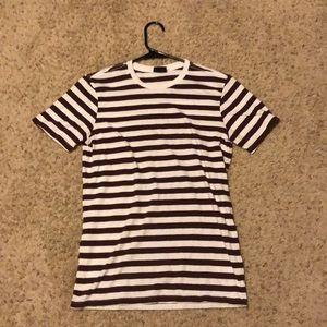 Like New Striped H&M T Shirt Size Extra Small